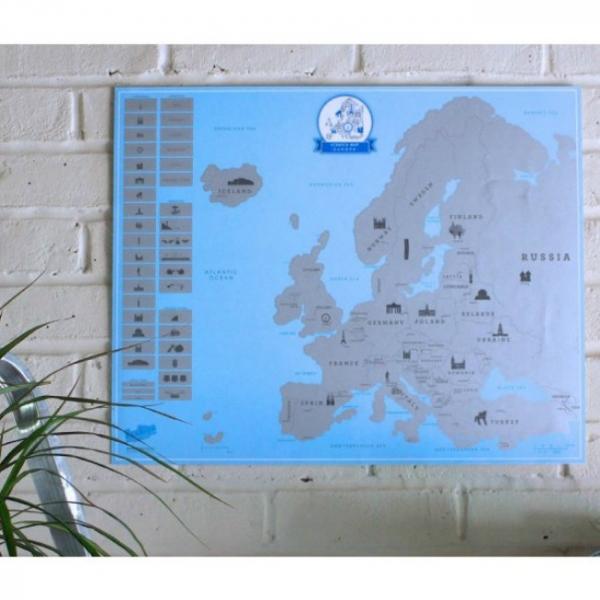 Harta de razuit – Europa 2