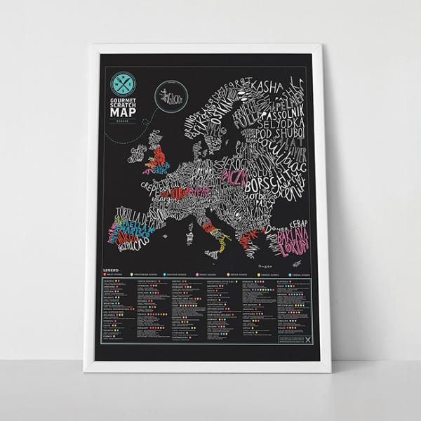 Harta de razuit Gourmet 3