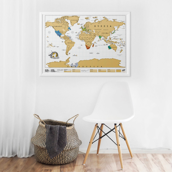 Harta de razuit - intreaga lume 3