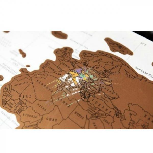 Harta de razuit - intreaga lume 2