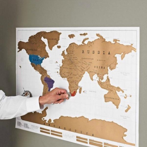 Harta de razuit - intreaga lume 0