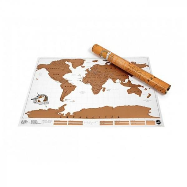 Harta de razuit - intreaga lume 1