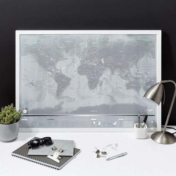 Harta de razuit Intreaga Lume - Platinum [0]