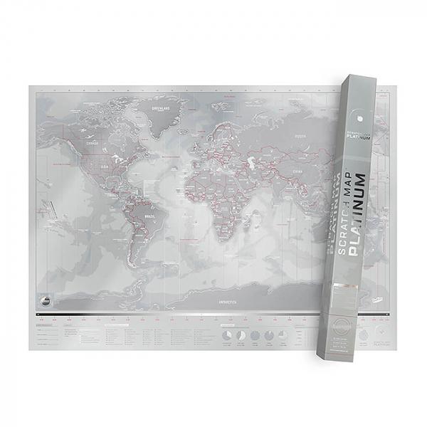 Harta de razuit Intreaga Lume - Platinum [4]