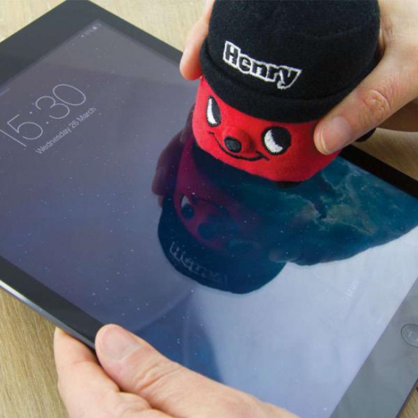 Henry, laveta de curatare ecran 0