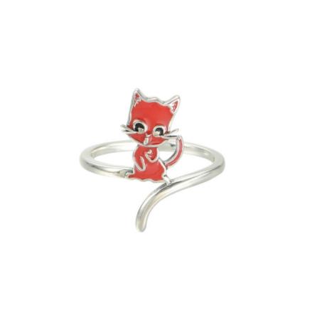 Inel Cat argint  [0]