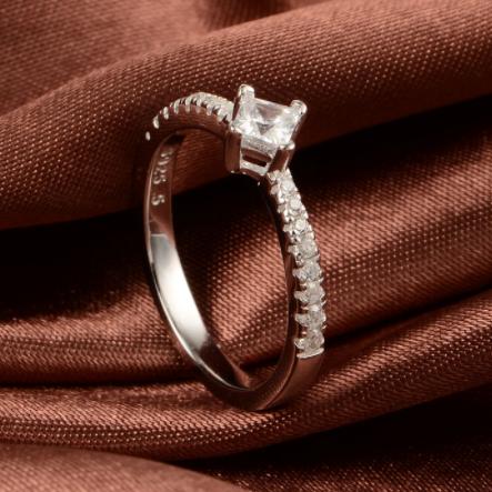Inel Crystals argint 3