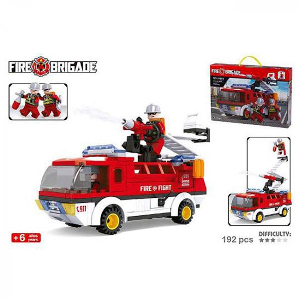 Joc de construit Camion Pompieri 6+ 0
