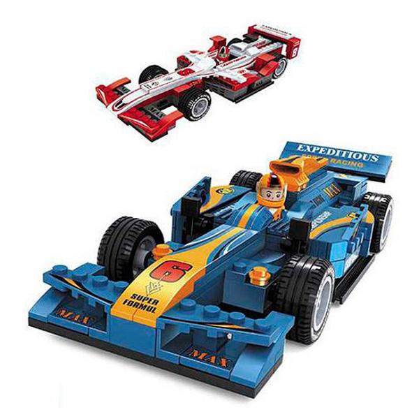 Joc de construit Masina Formula 1 6+ 0
