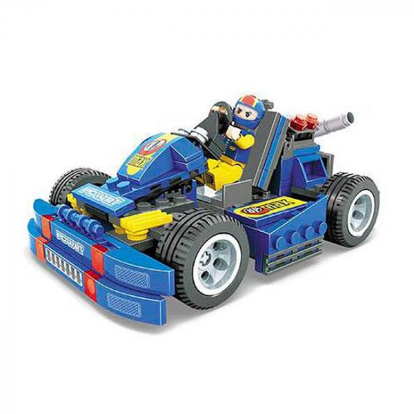 Joc de construit Masina Race 6+ 1