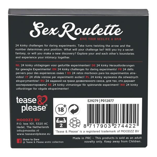 Ruleta Tease & Please 2