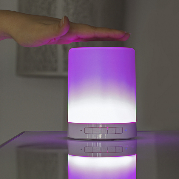 Lampa Touch Colour Changing cu speaker wireless 7