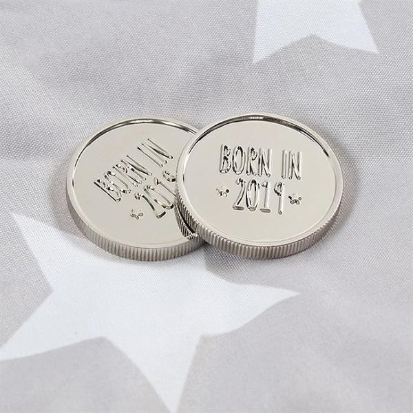 Moneda aniversara Born in 2019 1