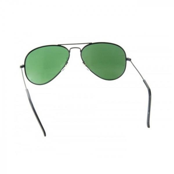 Ochelari de soare Aviator Black & Green [4]