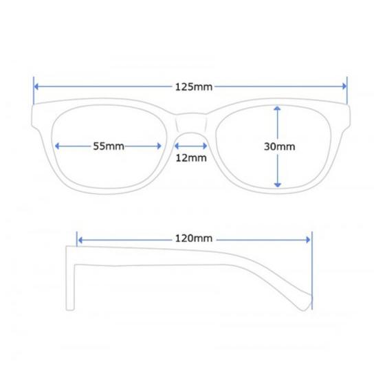 Ochelari de soare pentru copii –  Mauve 1