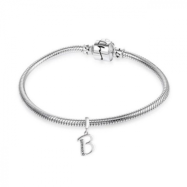 Pandantiv argint Litera B [1]