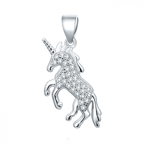 Pandantiv argint rodiat Unicorn [0]