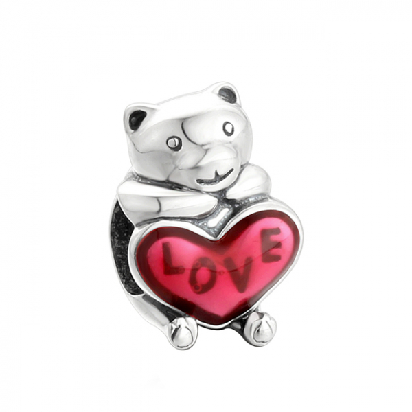 Pandantiv Bear Hug din argint [0]