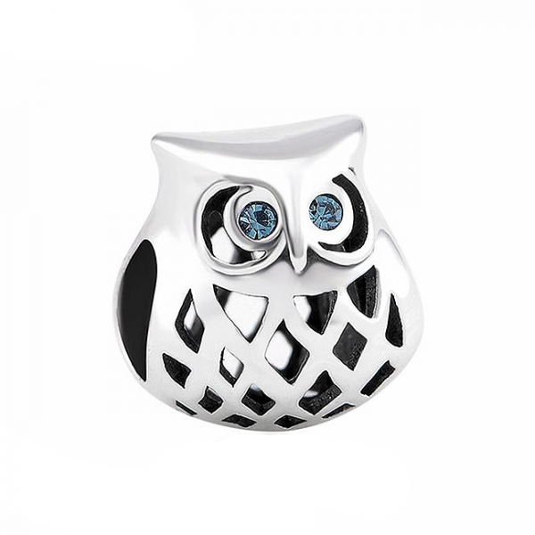 Pandantiv Blue Owl argint 0
