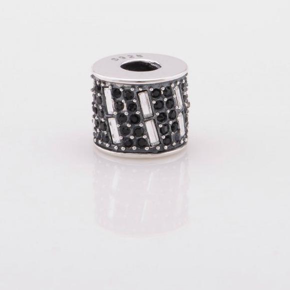 Pandantiv cristale negre din argint [2]