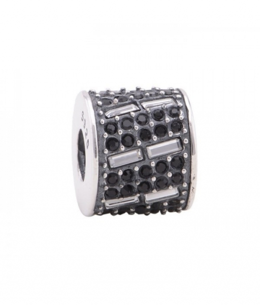 Pandantiv cristale negre din argint [0]