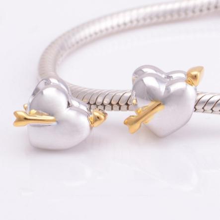 Pandantiv Cupid's Heart din argint 1