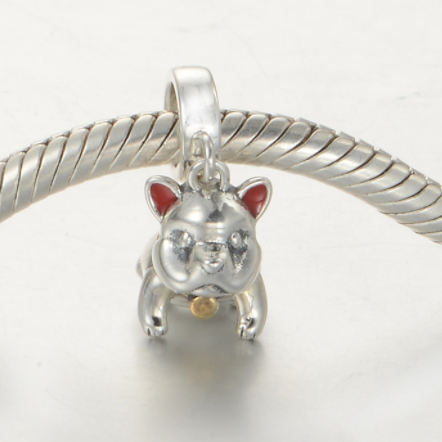 Pandantiv Cute Dog din argint [3]