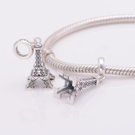 Pandantiv Eiffel din argint 4