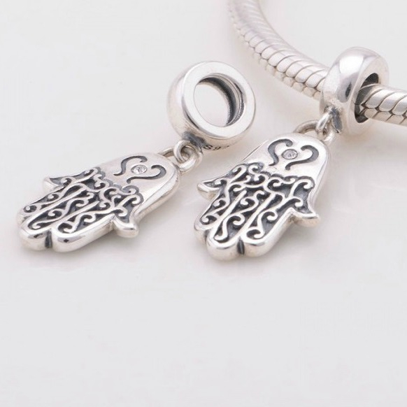 Pandantiv Hamsa din argint 1