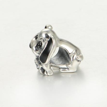 Pandantiv Happy Dog din argint 3