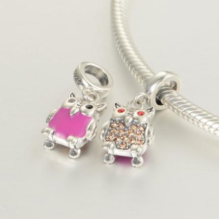 Pandantiv Happy Owl din argint [3]