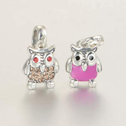 Pandantiv Happy Owl din argint [1]