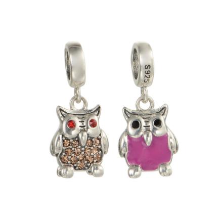 Pandantiv Happy Owl din argint [0]