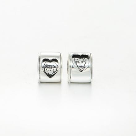 Pandantiv Inima din argint 1