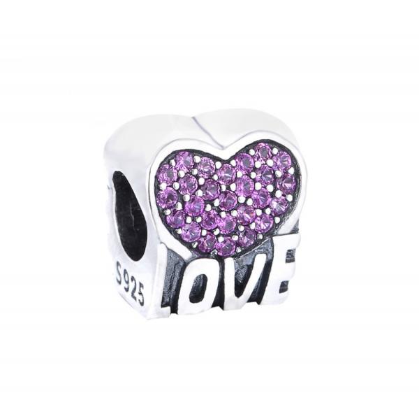 Pandantiv Love Heart din argint 0