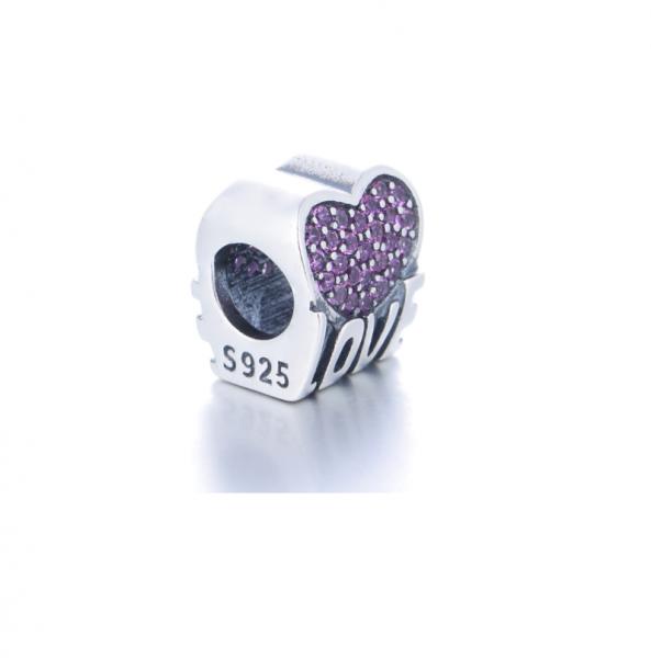 Pandantiv Love Heart din argint 1