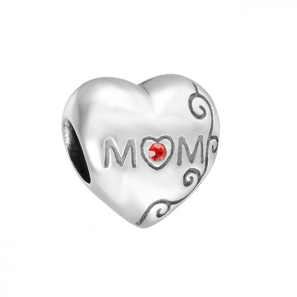 Pandantiv Mom Love din argint 0