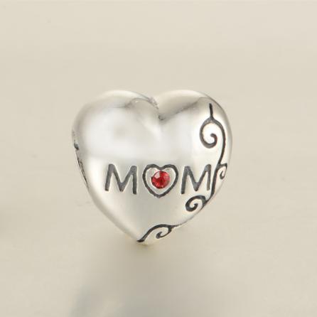 Pandantiv Mom Love din argint 2