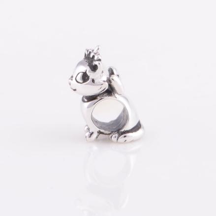 Pandantiv Pisica Aristocrata din argint 3