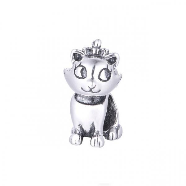 Pandantiv Pisica Aristocrata din argint 0