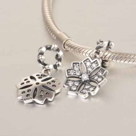 Pandantiv Romance Flower din argint 1