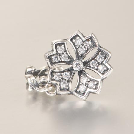 Pandantiv Romance Flower din argint 2