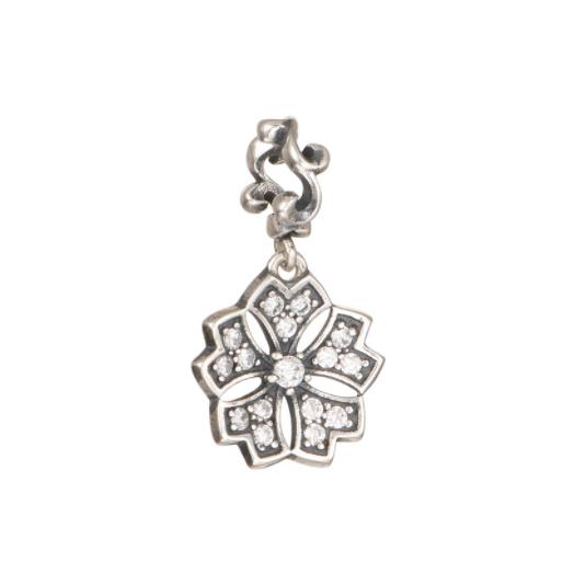 Pandantiv Romance Flower din argint 0