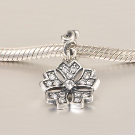 Pandantiv Romance Flower din argint 3