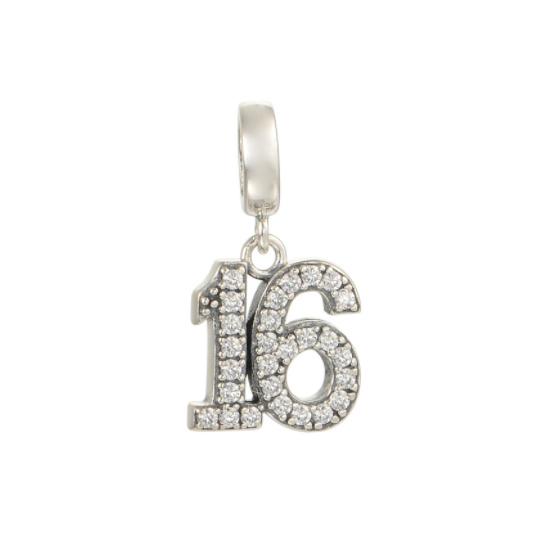 Pandantiv Sweet 16 din argint 0