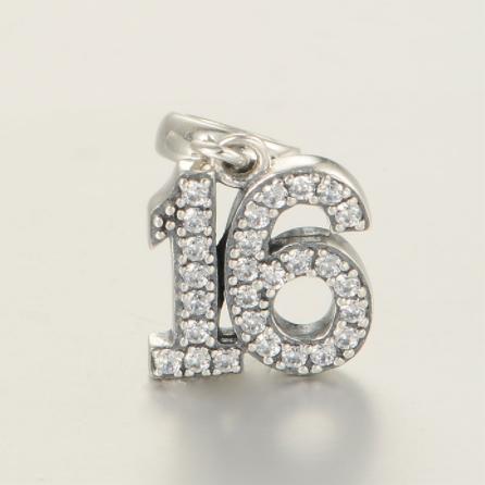 Pandantiv Sweet 16 din argint 2