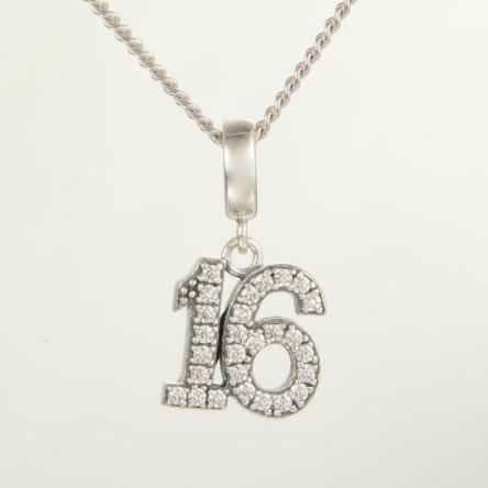 Pandantiv Sweet 16 din argint 4
