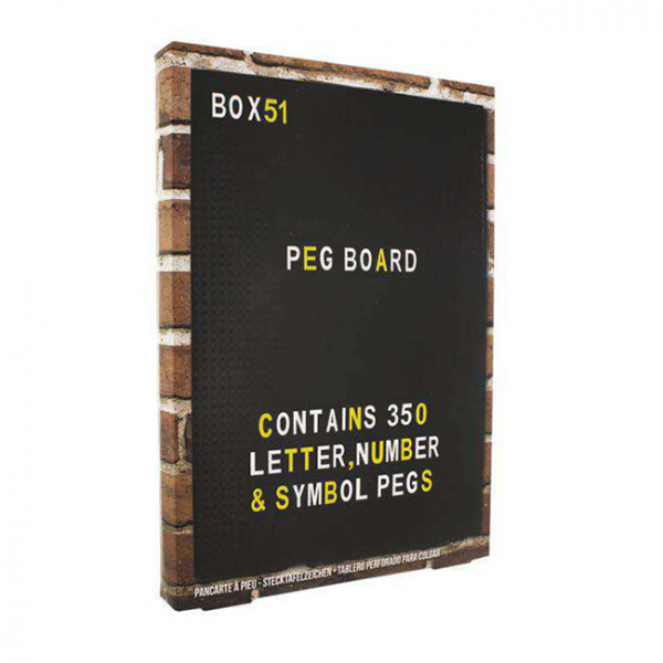 Peg Board 1