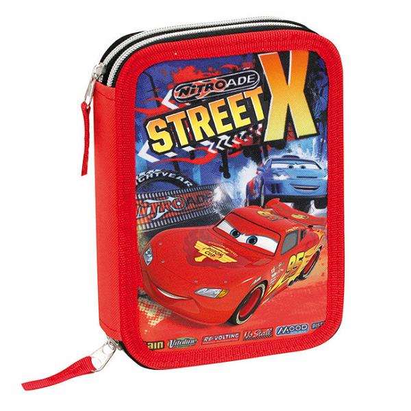 Penar dublu echipat Disney Cars Street 0