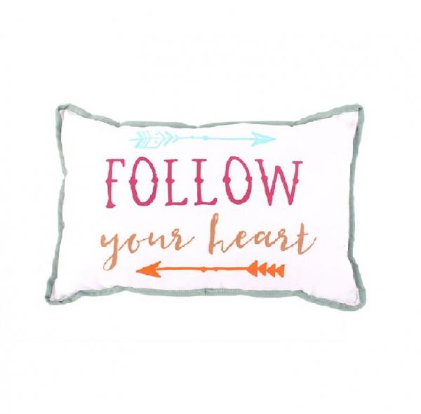 Perna decorativa Follow Your heart 0